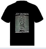 JOY DIVISION Unknown Pleasure  Music punk rock t-shirt  S-M-L- XL -XXL NEW