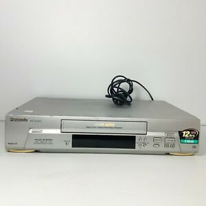Panasonic NV-SJ200 - 2 Head VHS VCR Player - Tested & Working! Free Postage!