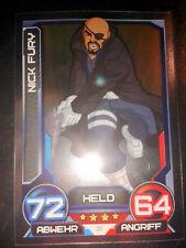 Hero Attax 2014 Marvel Mirror - Foil - Karte Nr. 21 Nick Fury Sammelkarte