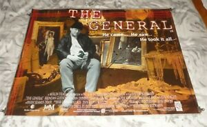 The General Orig UK Quad Movie Cinema Poster 1998 Brendan Gleeson Adrian Dunbar