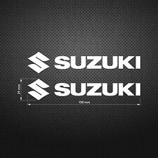 Suzuki STICKER DIE CUT DECAL VINYL RACING 2 pcs
