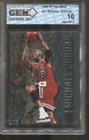 1996-97 Michael Jordan Fleer Metal #11 Gem Mint 10 Chicago Bulls HOF MVP