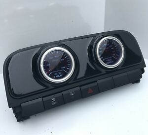 Volkswagen VW Polo Mk5 MkV 6R Centre air vent pod gauge holder 52mm Gloss Black