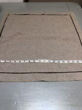 Cremieux 100% Linen Striped Standard Breakfast & Square Pillow Case Sham
