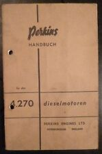 Perkins motor diésel manual 4.270