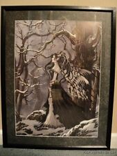 Nene Thomas Hope Framed LE Print Signed Fairy Faery Winter NEW
