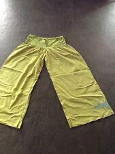 pantalon large vert anis CATIMINI 14ans
