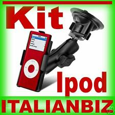 SUPPORTO AUTO PER LETTORE  MP3 APPLE IPOD NANO KIT CAR