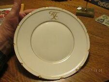 1800s REPUBLIC FRANCE PORCELAIN PLATE SEVRES VARSOVIE (WARSAW POLAND) LEGATION