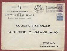 da Napoli a Torino del 10.1.25 con Pubblicitario Siero Casali c.50 ISOLATO