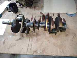Ford/Lincoln 4.6L crankshaft, removed from Lincoln aviator