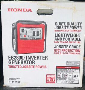 Honda EB2800i      2800 Watt Inverter Generator
