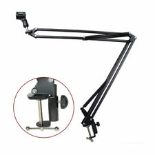 Mic Microphone Suspension Boom Scissor Arm Stand Holder for Studio Broadcast New