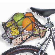 Solide Gepäcknetz aus Bungee Schnur Fahrrad Helm Elastisch fest Seil mit 6 Haken
