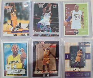 Kobe Bryant 6 Card Lot