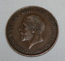 ONE PENNY 1929, GEORGIVS V, MONEDA ANTIGUA