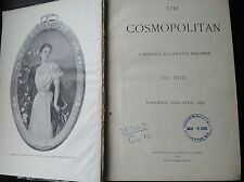 The Cosmopolitan MAGAZINE BOUND EDITION November 1894 through April 1895