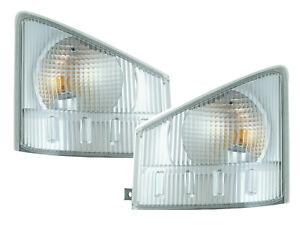 For 08-13 NPR NQR 08-10 W4500 W5500 Corner Signal Light Pair Passenger Driver