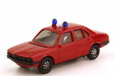 1:87 BMW 5er E12 528i Feuerwehr rot Lautsprecher weiß ohne Schrift - herpa 4051