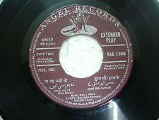 SAGAAI RAVI TAE 1306 1966 RARE BOLLYWOOD india OST Hindi EP 45 RECORD ANGEL vg-