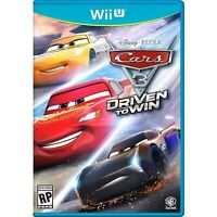 Cars 3: Driven to Win Nintendo Wii U ,Brand New, Free Shipping