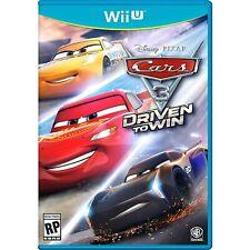 Cars 3: Driven to Win Nintendo Wii U ,Brand New, Free Shipping