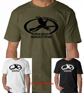 GAME BIRDS SHOOTING PHEASANT Hunting t-shirt, tee