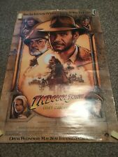 Indiana Jones and the Last Crusade Movie 1989 Poster 36x24 Rolled