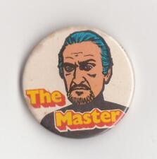 VERY RARE: The Master Sugar Smacks badge / pin, 1971. Doctor Who