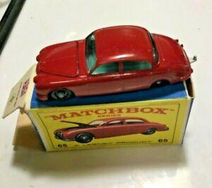Lesney Matchbox #65 Jaguar