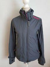 Ladies/Girls SUPERDRY WINDCHEATER Jacket/Coat Size XS, triple Zip grey