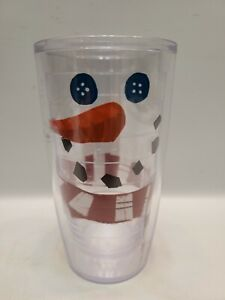 Tervis 16 oz Tumbler Snowman with Scarf Patch  Hot and Cold Insulation ¹⁴⁶⁵