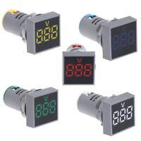 AC 24V-500V Digital Display Voltmeter LED Lights Tester Tools Combo Indicator