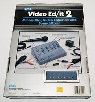 Sima Video Ed/it Edit 2 & Video EditMaster plus Enhancer & Sound Mixer-FREE New