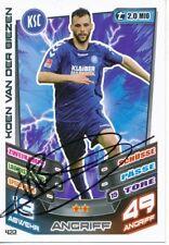 Koen van der Biezen  Karlsruher SC  Match Attax Card original signiert 404740