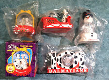 1996 McDonald's Happy Meal Toys - 101 DALMATIANS - Complete Set (4) + Extra MIB