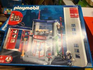Playmobil 4819 Feuerwehr-Hauptquartier, mit Originalkarton