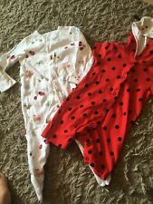 Two All In Ones 3-6 Months John Lewis & Mother Care
