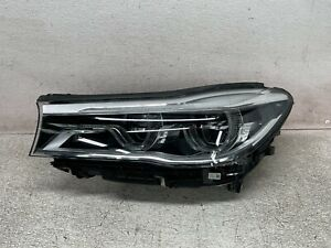 16 17 18 BMW G11 G12 LED Headlight Left Driver Side Adaptive 740i 750i OEM