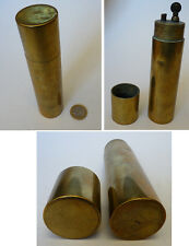 Briquet de poilu guerre 1914-1918 à essence WWW1 lighter