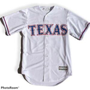 Rare Texas Rangers Majestic Jersey White Size S Prince Fielder #84