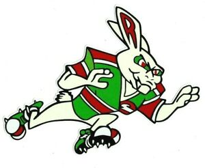 THE RABBITS Decal Sticker SOUTH SYDNEY PETROL OIL nrl RABBITOHS rugby league !!