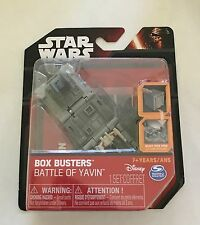 NIB Spin Master Disney Star Wars Box Busters - Battle of Yavin Toy