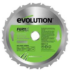 EVOLUTION FURY 3 BLADE FURY 210 REPLACEMENT SAW BLADE FURY 6
