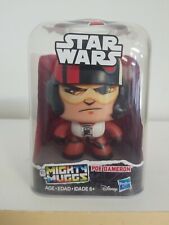 Star Wars Mighty Muggs Poe Dameron #9 Comes With 3 different faces.