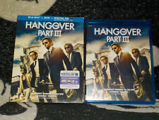The Hangover Part III Blu Ray +DVD +Slipcase 2 Disc Free Shipping
