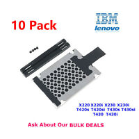 10X 7mm HDD Caddy Rails For IBM X220 X220i X230 X2230i T420s T420si T430s T430si