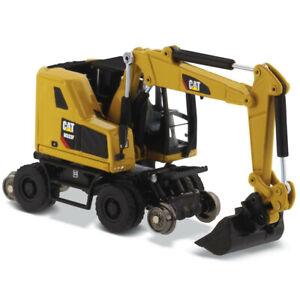 DMS 85656 Caterpillar M323F Wheel Excavator w/Rail Hi-Wheels 1/87 HO Scale MIB