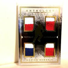 MARIAN GABORIK 2014-15 Tetrad Materials Panini Anthology 207/299 Jersey FREESHIP