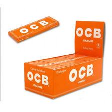Ocb Orange  - Naranja  100  libritos de papel de fumar. 2 cajas - 6000 hojitas